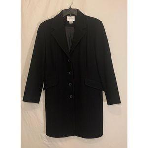 100% wool long winter coat